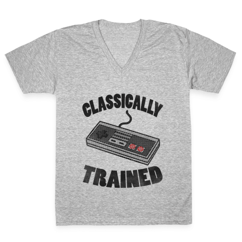 I'm Classically Trained V-Neck Tee Shirt
