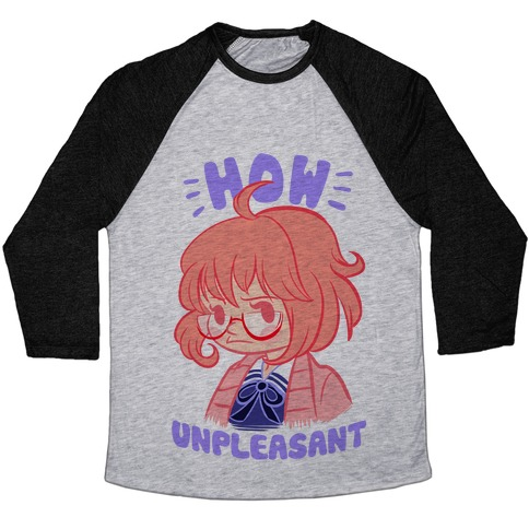 How Unpleasant Baseball Tee
