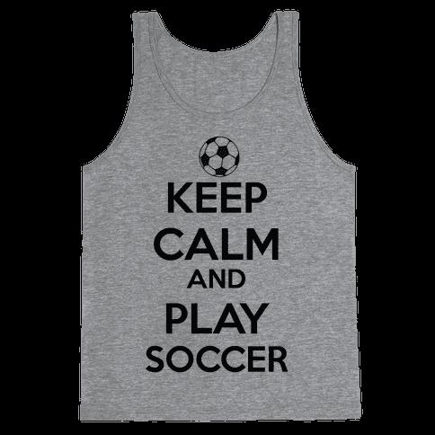 Play Soccer Tank Top