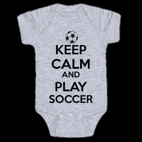 Play Soccer Baby Onesy