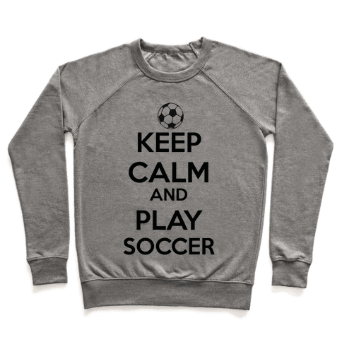 Play Soccer Pullover