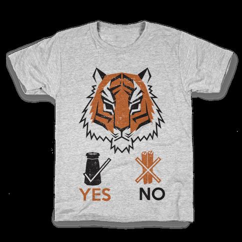 Tigers Hate Cinnamon Kids T-Shirt
