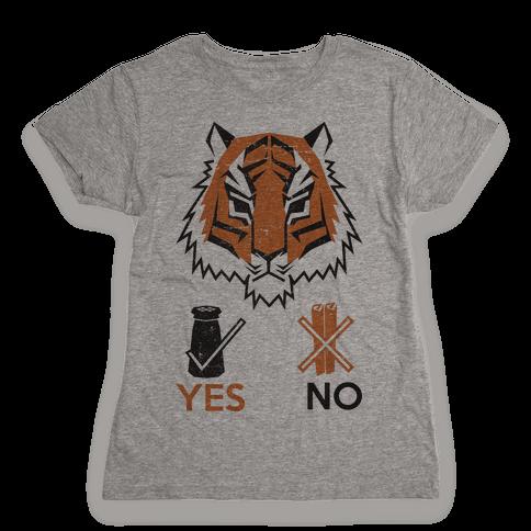 Tigers Hate Cinnamon Womens T-Shirt
