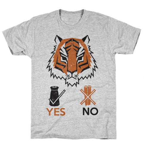 Tigers Hate Cinnamon Mens T-Shirt