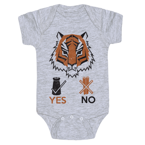 Tigers Hate Cinnamon Baby Onesy