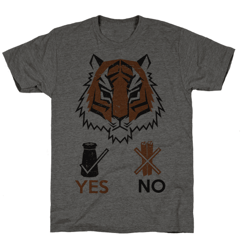 Tigers Hate Cinnamon