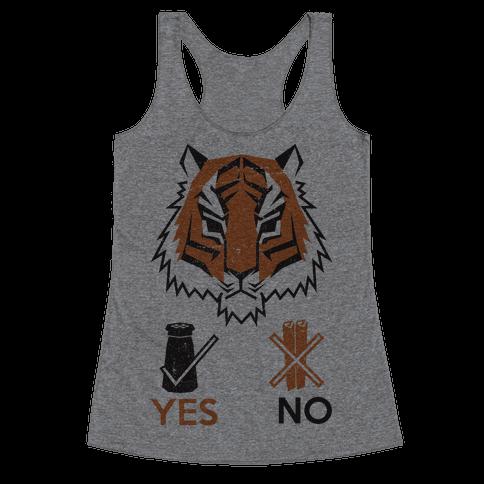 Tigers Hate Cinnamon Racerback Tank Top