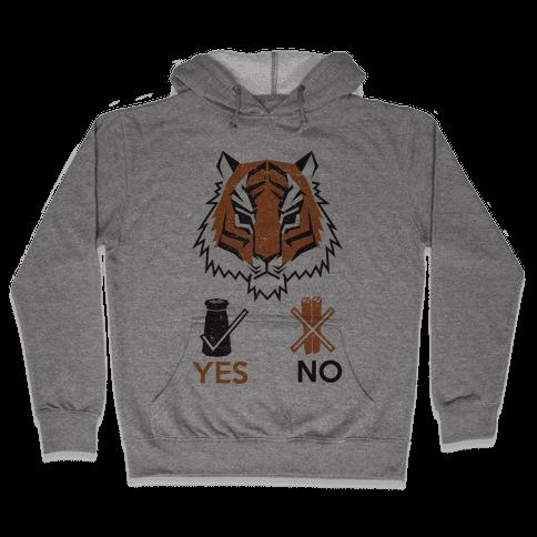 Tigers Hate Cinnamon Hooded Sweatshirt