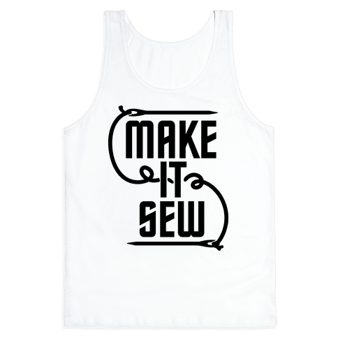 Make It Sew Tank Top