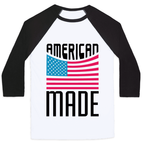 American Made Baseball Tee