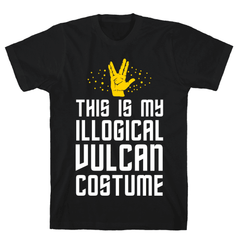 This is My Illogical Vulcan Costume Mens T-Shirt