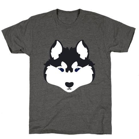 Siberian Husky Face T-Shirt