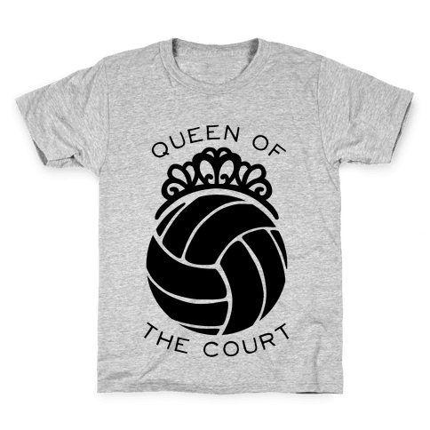Queen Of The Court (Tank) Kids T-Shirt