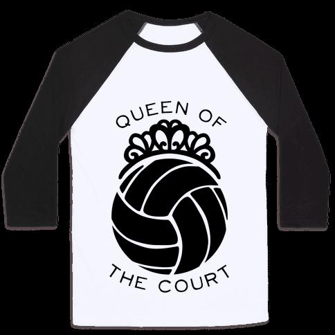 Queen Of The Court (Tank) Baseball Tee