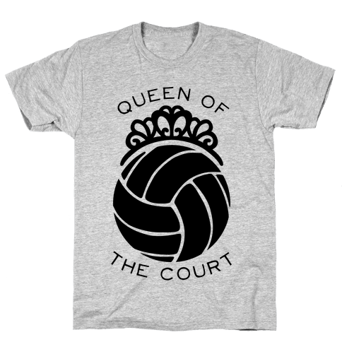 Queen Of The Court (Tank) Mens T-Shirt