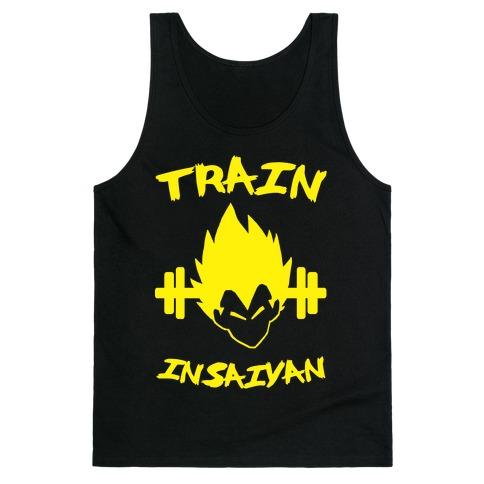 Train InSaiyan Tank Top