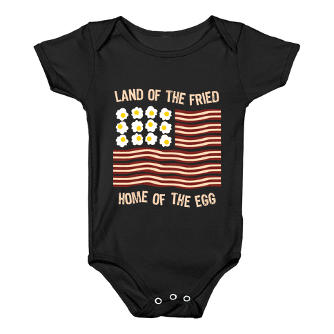 Land of the Fried Baby Onesy