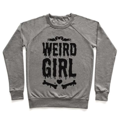 Weird Girl Pullover