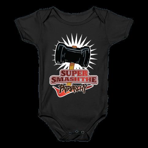 Super Smash The Patriarchy Baby Onesy