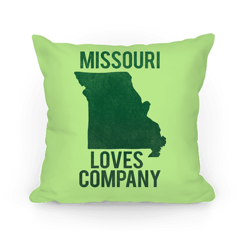 Missouri Loves Company Pillow