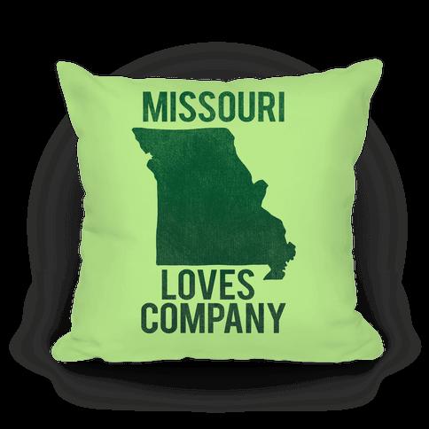 Missouri Loves Company Pillow