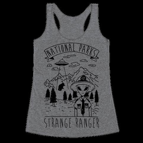 Strange Ranger Racerback Tank Top