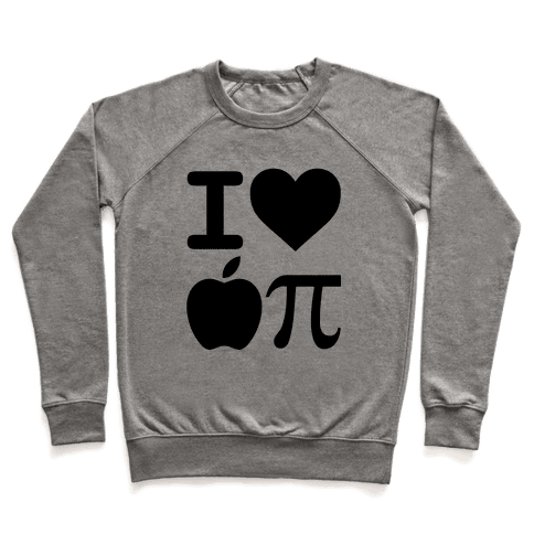 I Love Apple Pie Pullover