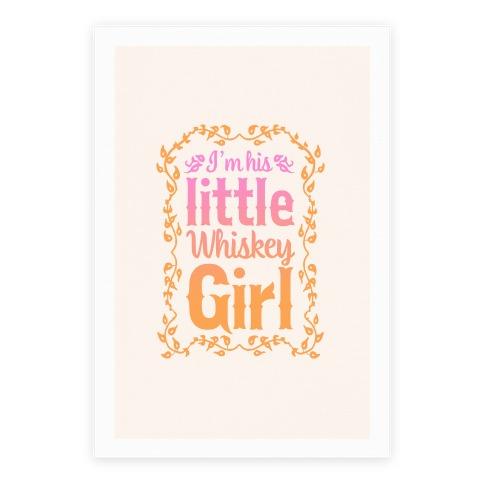 Little Whiskey Girl Poster