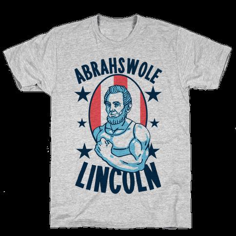 Abrahswole Lincoln Mens T-Shirt