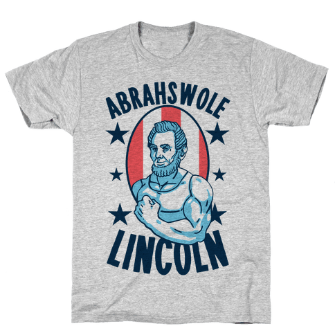 Abrahswole Lincoln Mens T-Shirt