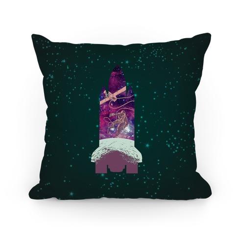 Galactic Space Vignette Pillow