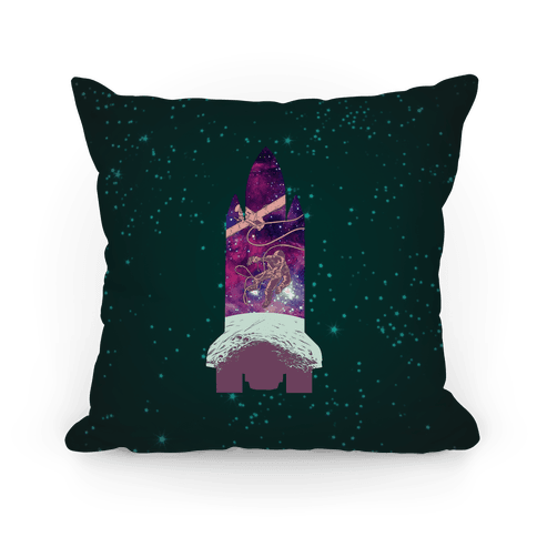 Galactic Space Vignette Pillow