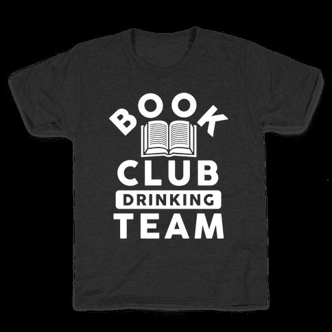 Book Club Drinking Team Kids T-Shirt