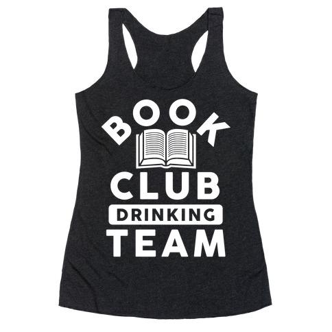 Book Club Drinking Team Racerback Tank Top
