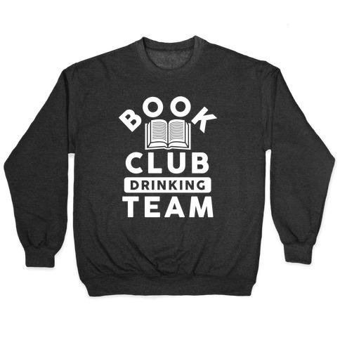 Book Club Drinking Team Pullover