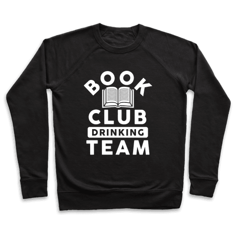 Book Club Drinking Team Pullover