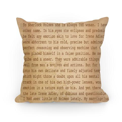 Classic Sherlock Pillow