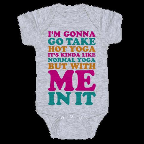 Hot Yoga Baby Onesy