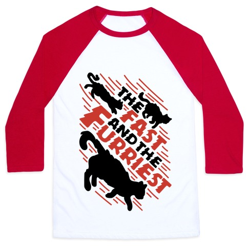 Fast and The Furriest Baseball Tee