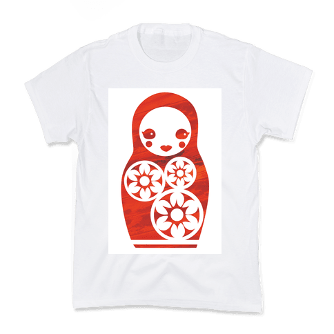 Matryoshka Doll Kids T-Shirt