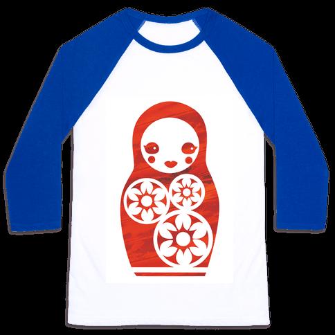 Matryoshka Doll Baseball Tee