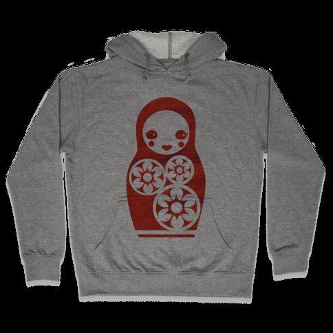 Matryoshka Doll Hooded Sweatshirt