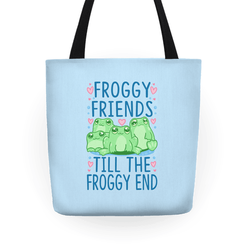 Froggy Friends Till The Froggy End Tote