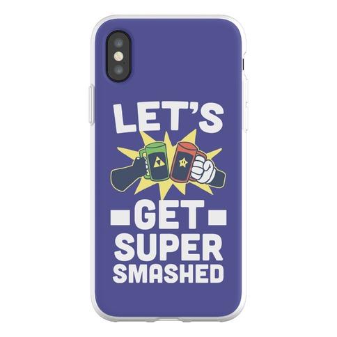 Let's Get Super-Smashed Phone Flexi-Case