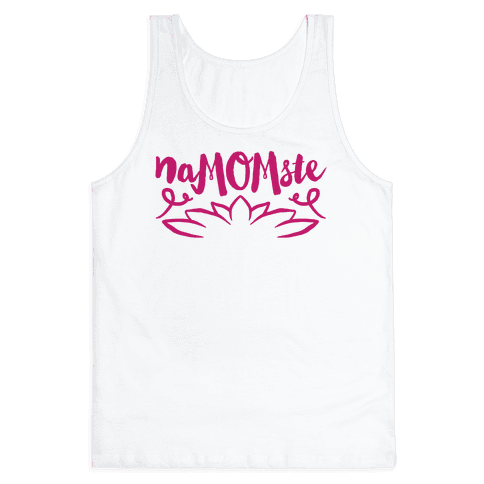NaMOMste Yoga Mom Parody Tank Top