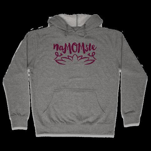 NaMOMste Yoga Mom Parody Hooded Sweatshirt
