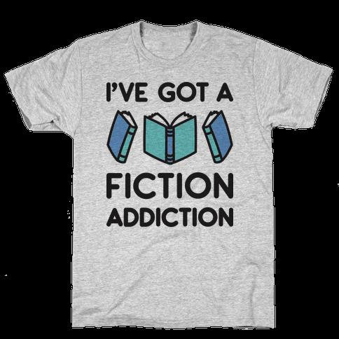 I've Got A Fiction Addiction Mens T-Shirt