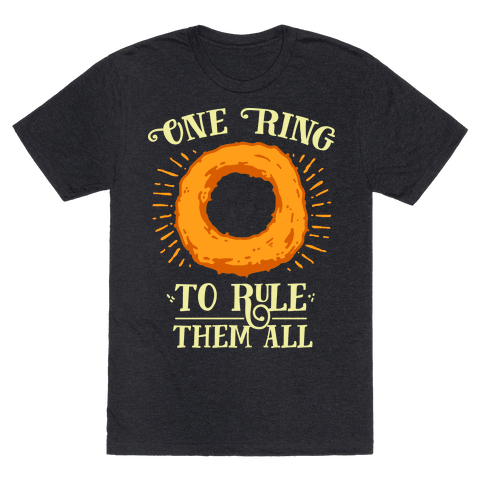 One Onion Ring to Rule Them All