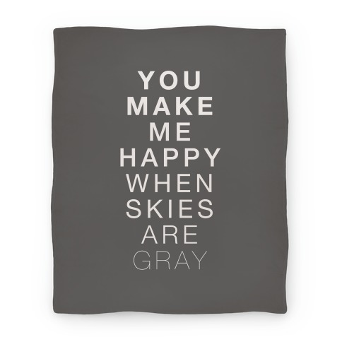 You Make Me Happy (SUNSHINE) Blanket Blanket