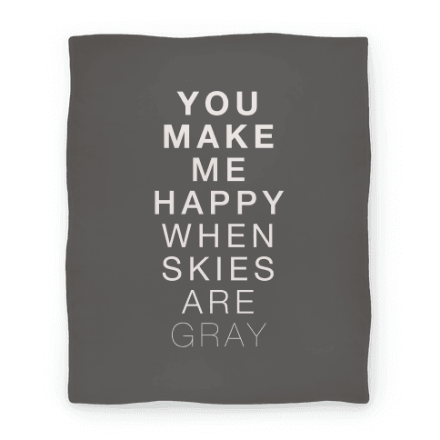 You Make Me Happy (SUNSHINE) Blanket